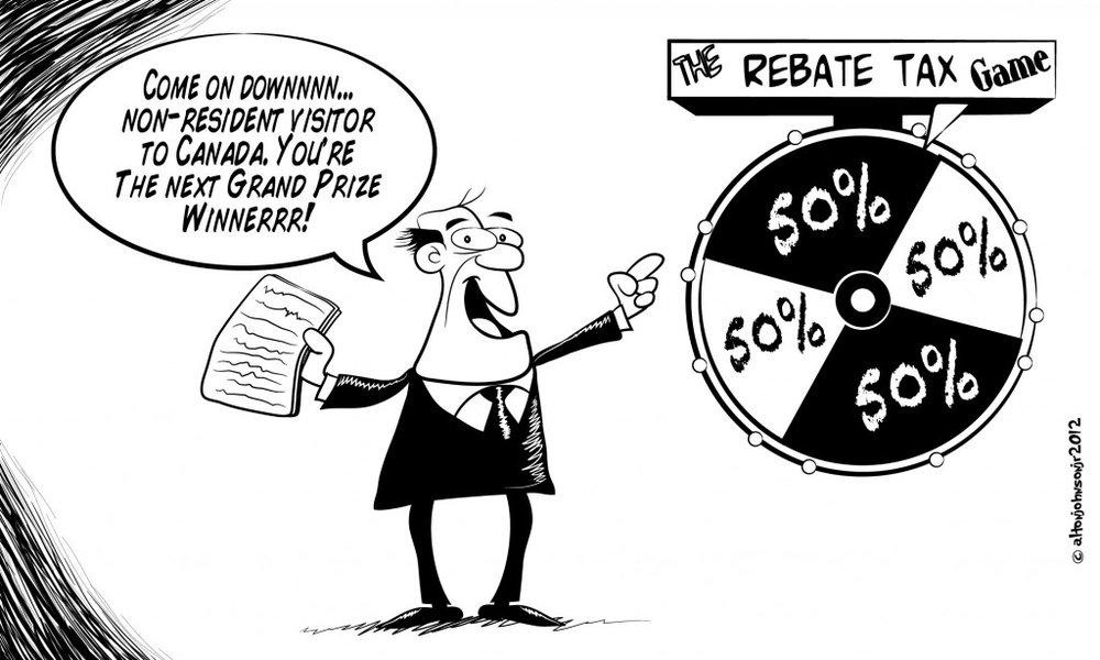 Rebate Tax Wheel of Fortune