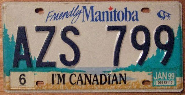 Manitoba License Plate by https://www.flickr.com/photos/woodysworld1778/, See page for attribution