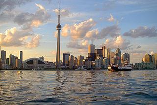 Skyline of Toronto By John Vetterli (originally posted to Flickr as Skyline) [CC-BY-SA-2.0 (http://creativecommons.org/licenses/by-sa/2.0)], via Wikimedia Commons