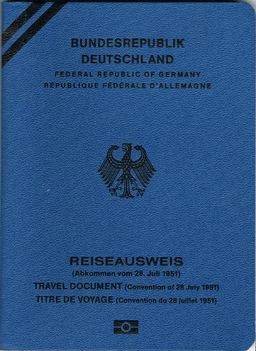 """""""Konventionspass Deutschland"""" by FAFA - from German Wikipedia; scan by FAFA. Licensed under Public domain via Wikimedia Commons - http://commons.wikimedia.org/wiki/File:Konventionspass_Deutschland.png#mediaviewer/File:Konventionspass_Deutschland.png"""