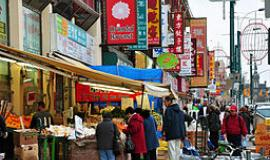 Chinatown in Toronto By chensiyuan (chensiyuan) [GFDL (https://www.gnu.org/copyleft/fdl.html) or CC BY-SA 4.0-3.0-2.5-2.0-1.0 (https://creativecommons.org/licenses/by-sa/4.0-3.0-2.5-2.0-1.0)], via Wikimedia Commons