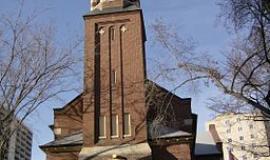 St. Paul's Cathedral via https://commons.wikimedia.org/wiki/File:St._Paul%27s_Cathedral,_Saskatoon.JPG?uselang=en-gb