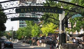 Hess Village By Nhl4hamilton (Rick Cordeiro) (Own work) [Public domain], via Wikimedia Commons