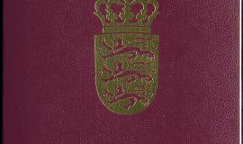 Danish Passport [Public Domain]
