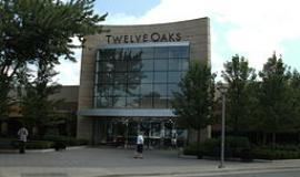 Twelve Oaks Mall via https://commons.wikimedia.org/wiki/File:Entrance_of_Twelve_Oaks_Mall.jpg?uselang=en-gb