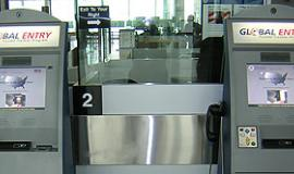 Global Entry Kiosks at an airport via http://commons.wikimedia.org/wiki/File:Global_Entry_Kiosk.jpg