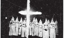 Ku Klux Klan ceremony in London, ON By Originally published by the Toronto Star. Unknown author. [Public domain], via Wikimedia Commons