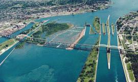 Soo Locks Sault Ste Marie [Public Domain]