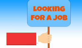 Looking for a job via https://pixabay.com/en/looking-for-a-job-work-silhouettes-68958/
