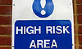 High Risk Area by http://www.flickr.com/photos/howardlake/