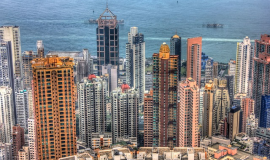 Hong Kong via https://pixabay.com/en/hong-kong-china-buildings-347302/
