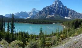 Banff via https://pixabay.com/en/national-park-canada-banff-856316/