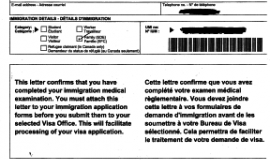 Sample Official Medical Exam Form