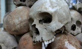 Human Skulls via https://pixabay.com/en/skulls-genocide-murder-death-human-1433178/