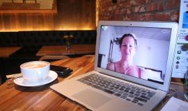 Skype call via https://pixabay.com/en/skype-woman-computer-laptop-home-835470/