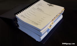 The size of a typical Spousal Sponsorship Appeal Submission