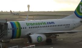 Transavia Plane on Tarmac