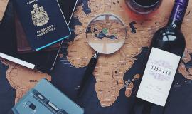 Travel plans via https://pixabay.com/en/travel-explore-journey-traveller-1209355/
