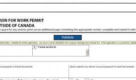 Validating a CIC form
