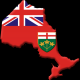 Ontario Flag By Qyd (talk · contribs) [Public domain], via Wikimedia Commons