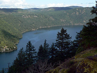 Saanich Inlet on Vancouver Island By David Stanley from Nanaimo, Canada (Saanich Inlet  Uploaded by russavia) [CC BY 2.0 (https://creativecommons.org/licenses/by/2.0)], via Wikimedia Commons