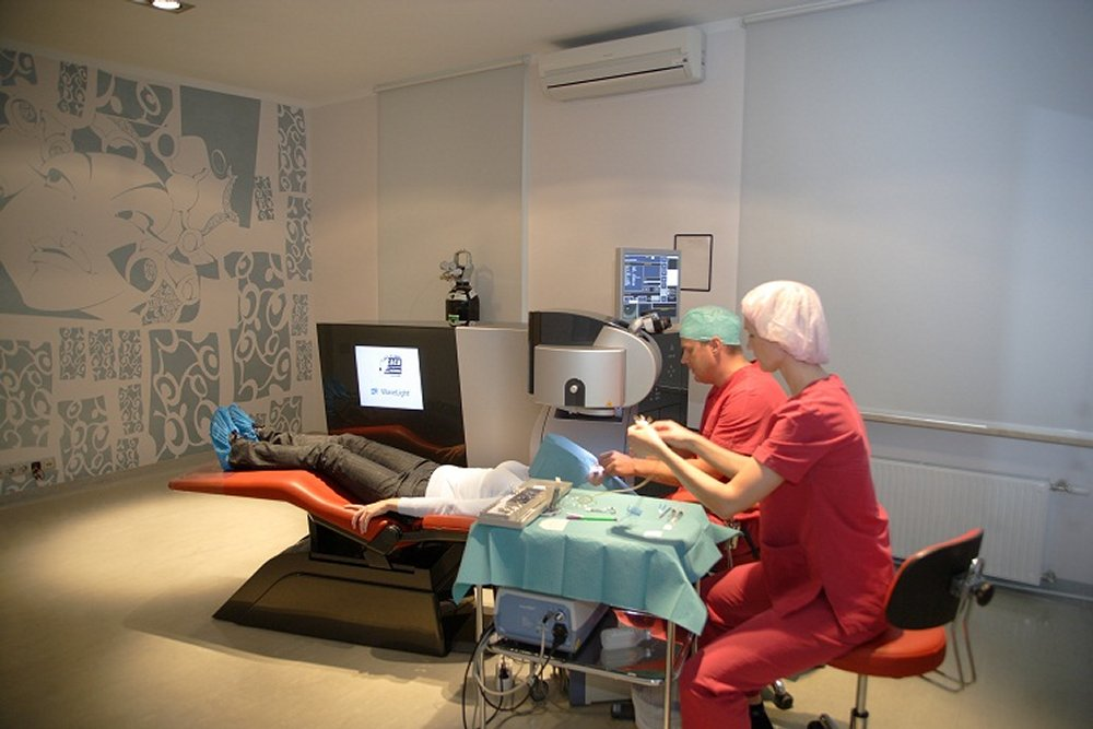 Surgery by By Medical Travel Riga (Own work) [CC-BY-SA-3.0 (https://creativecommons.org/licenses/by-sa/3.0) or GFDL (http://www.gnu.org/copyleft/fdl.html)], via Wikimedia Commons