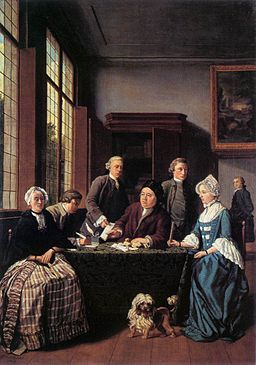The Marriage Contract by Jan Josef Horemans (I) [Public domain], via Wikimedia Commons
