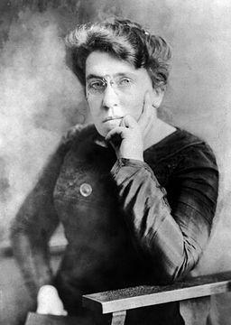Emma Goldman By T. Kajiwara (1876–1960) (Library of Congress[1]) [Public domain], via Wikimedia Commons