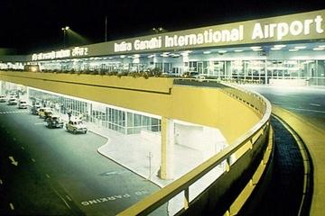 Indira Gandhi International Airport via https://commons.wikimedia.org/wiki/File:Indira-Gandhi-Airport.jpg?uselang=en-gb