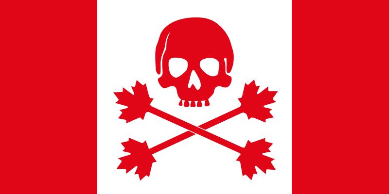 Pirate Flag of Canada