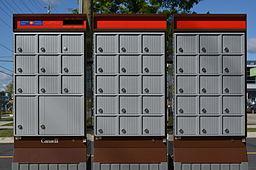 Canada Post Community Mail Boxes [Public Domain]