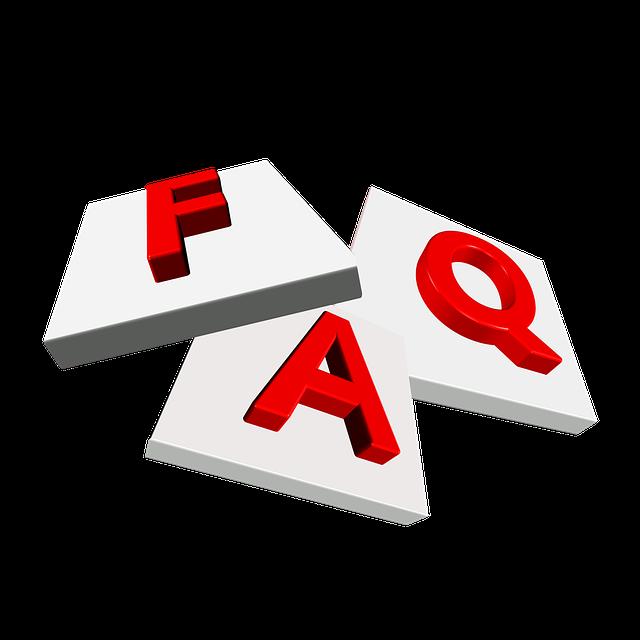 FAQ via https://pixabay.com/en/faq-questions-help-support-463345/