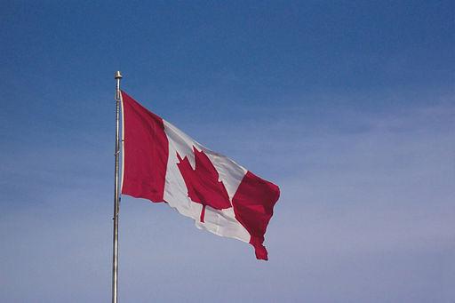 Canadian Flag By Kim Newberg [Public domain], via Wikimedia Commons