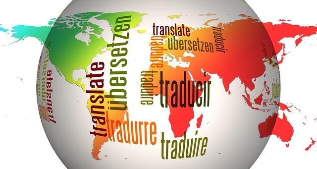 Translate in different languages via https://pixabay.com/en/globe-world-languages-translate-110775/