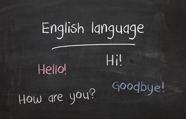 English Language via https://pixabay.com/photos/english-english-language-language-2724442/