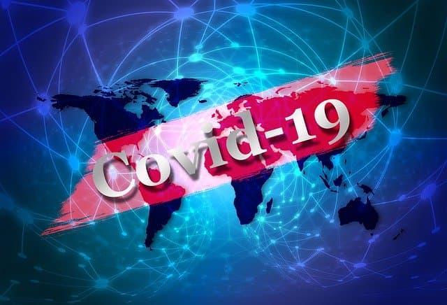 COVID-19 Map https://pixabay.com/illustrations/connection-covid-19-coronavirus-4884862/