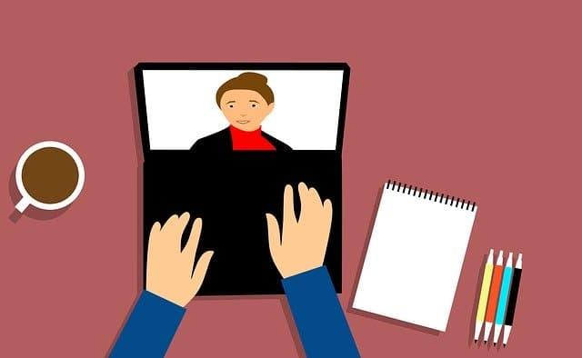 Video Conferencing via https://pixabay.com/illustrations/webinar-conferencing-video-beverage-3199164/