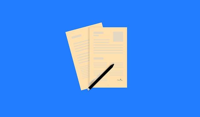 Paper Application https://pixabay.com/vectors/application-job-work-workplace-2076445/