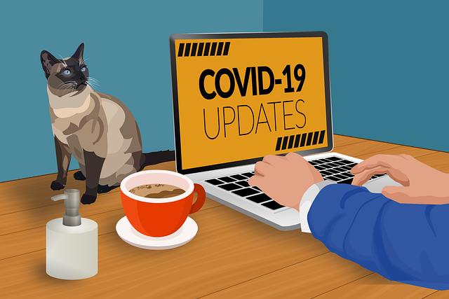 Covid updates https://pixabay.com/illustrations/covid-19-work-from-home-quarantine-4938932/